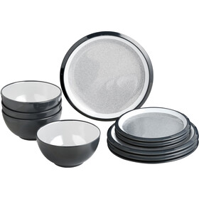 Brunner Midday Set de platos, design granyte